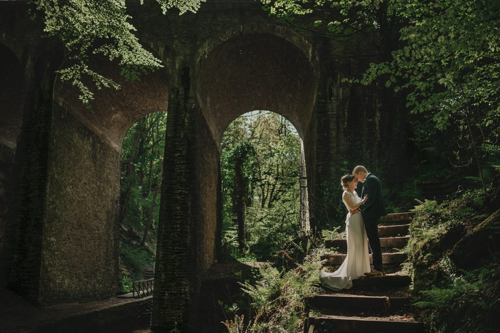 An image of an elopement in Isle of Man