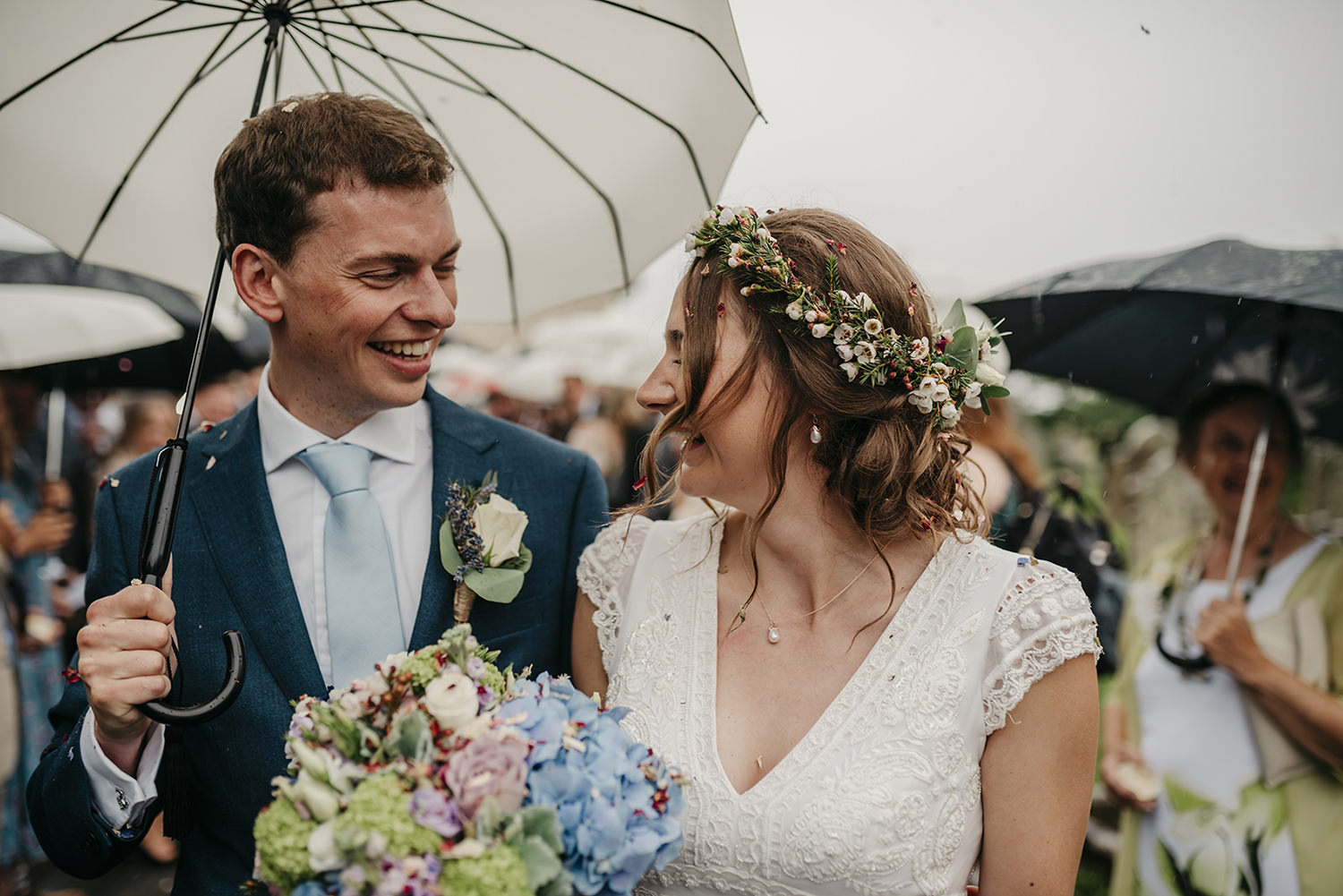 Lovely and sweet destination wedding on Isle of Man