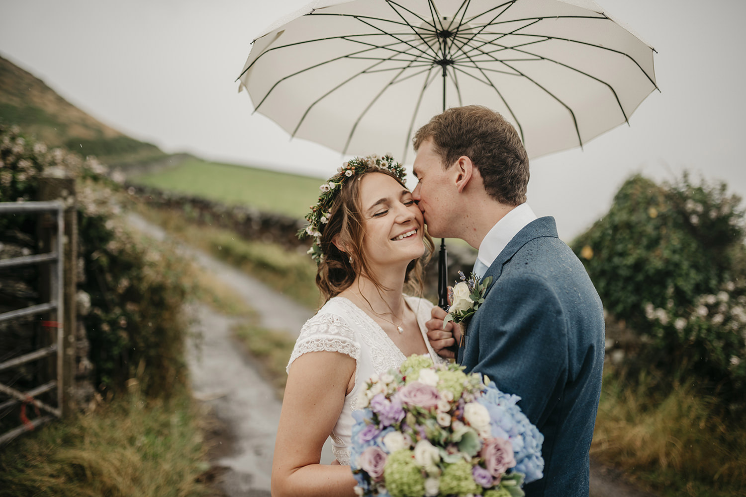 Destination wedding in Maughold, Isle of Man