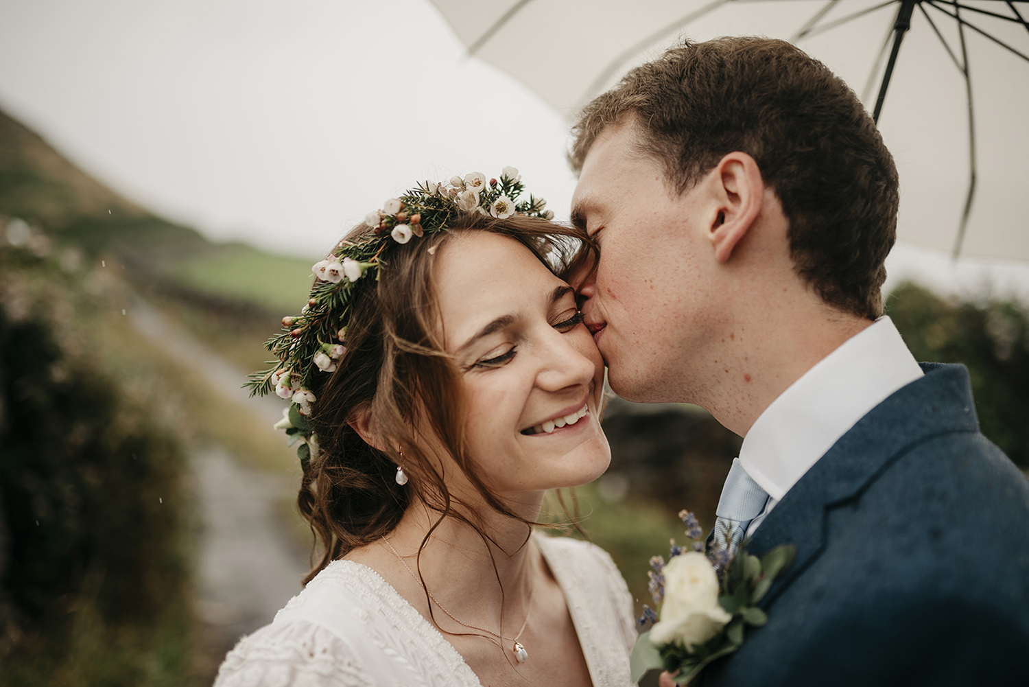 Destination wedding from London to Isle of Man