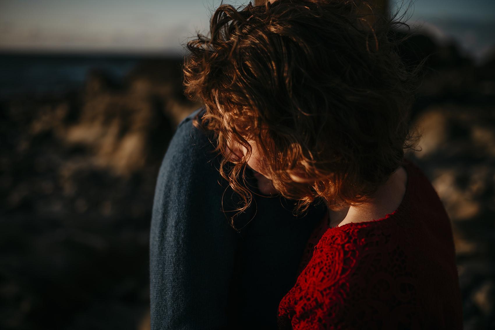 engagement photoshoot on Isle of Man