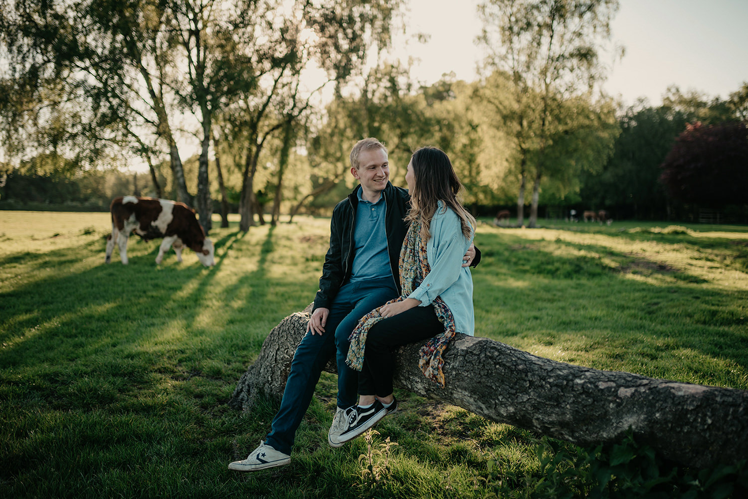 Engagement photoshoot in Marbury Park , Northwich, Cheshire