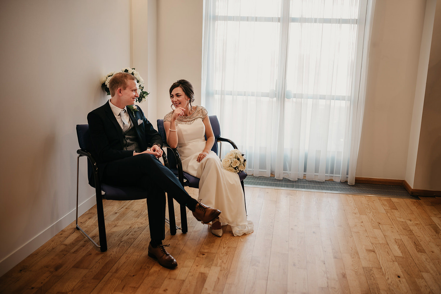 Newlyweds from Cheshire at their Isle of Man and Northwich elopement