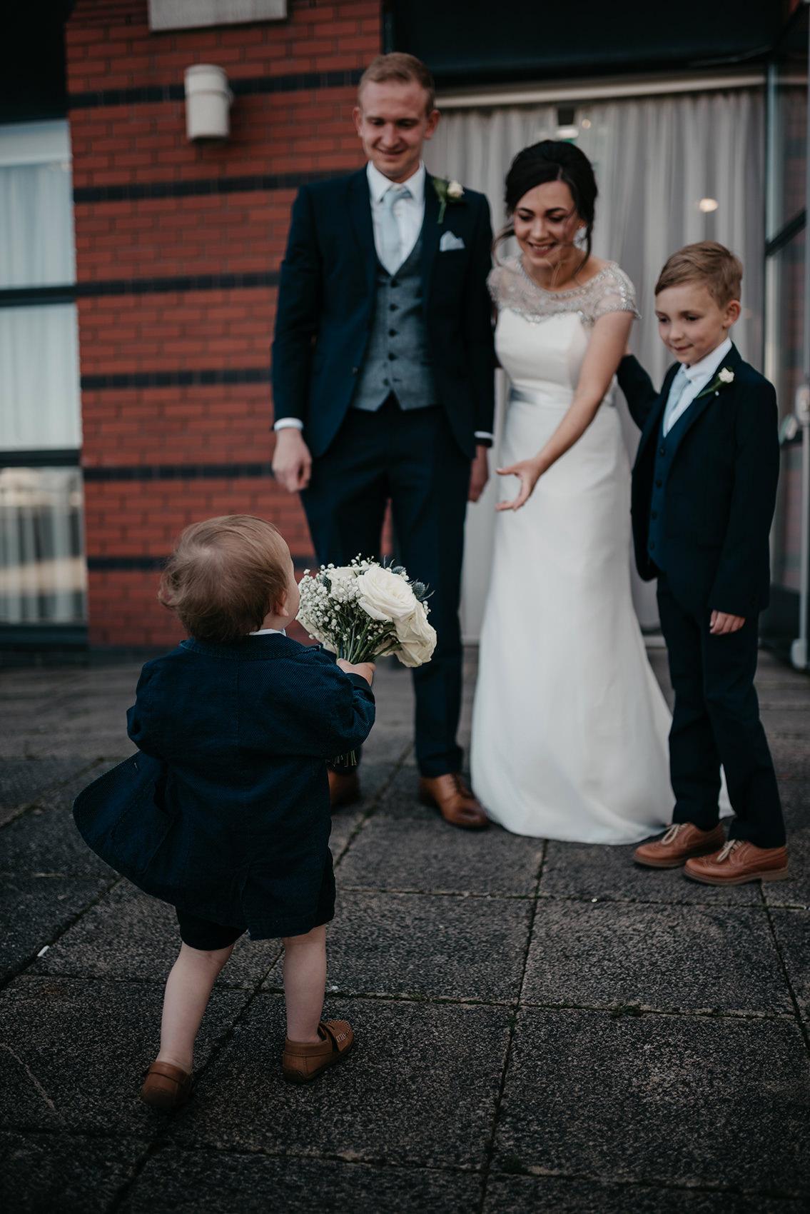 Wedding portrait time