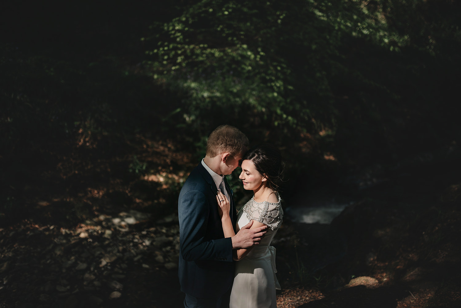 Isle of Man elopement in Groudle Glen