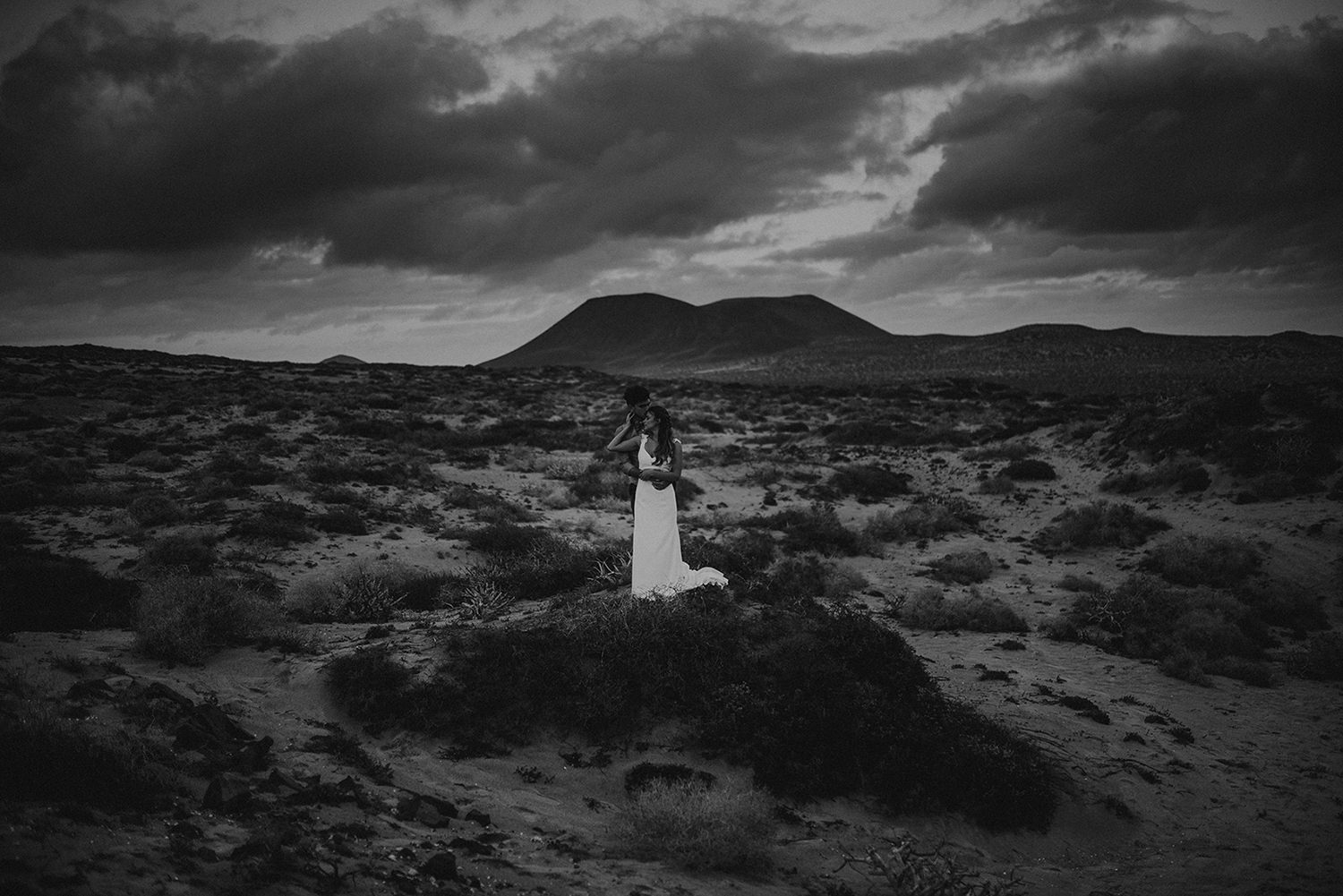 Elopement in La Graciosa
