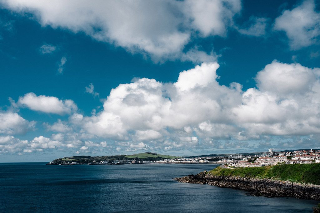 A view of Douglas from Onchan
