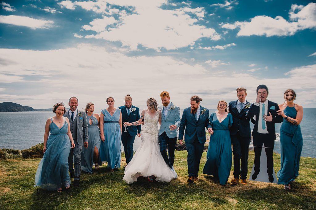 Wedding at Niarbyl