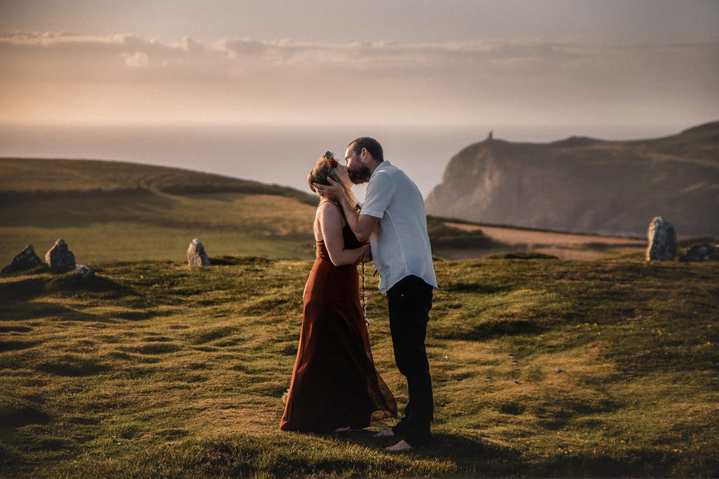 Summer solstice handfasting on the Isle of Man