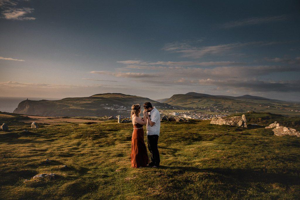 Summer solstice handfasting Isle of Man