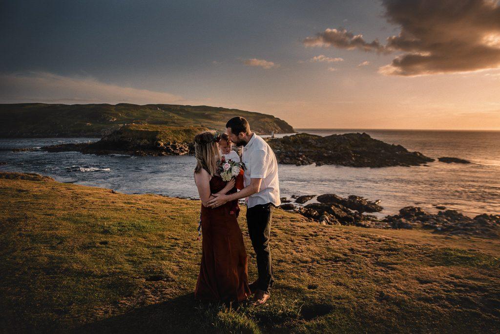 Isle of Man handfasting at summer solstice at Sound