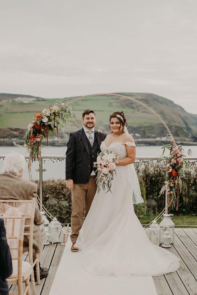 Outdoor Bradda Head wedding