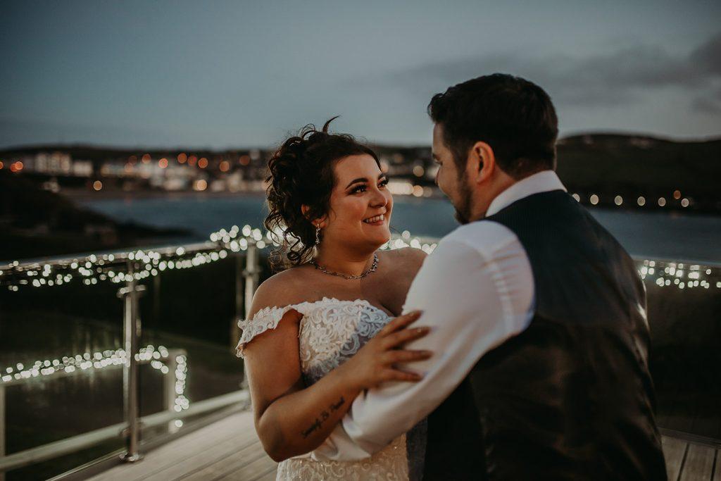 Bradda Head wedding
