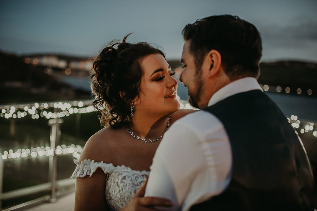 Port Erin wedding