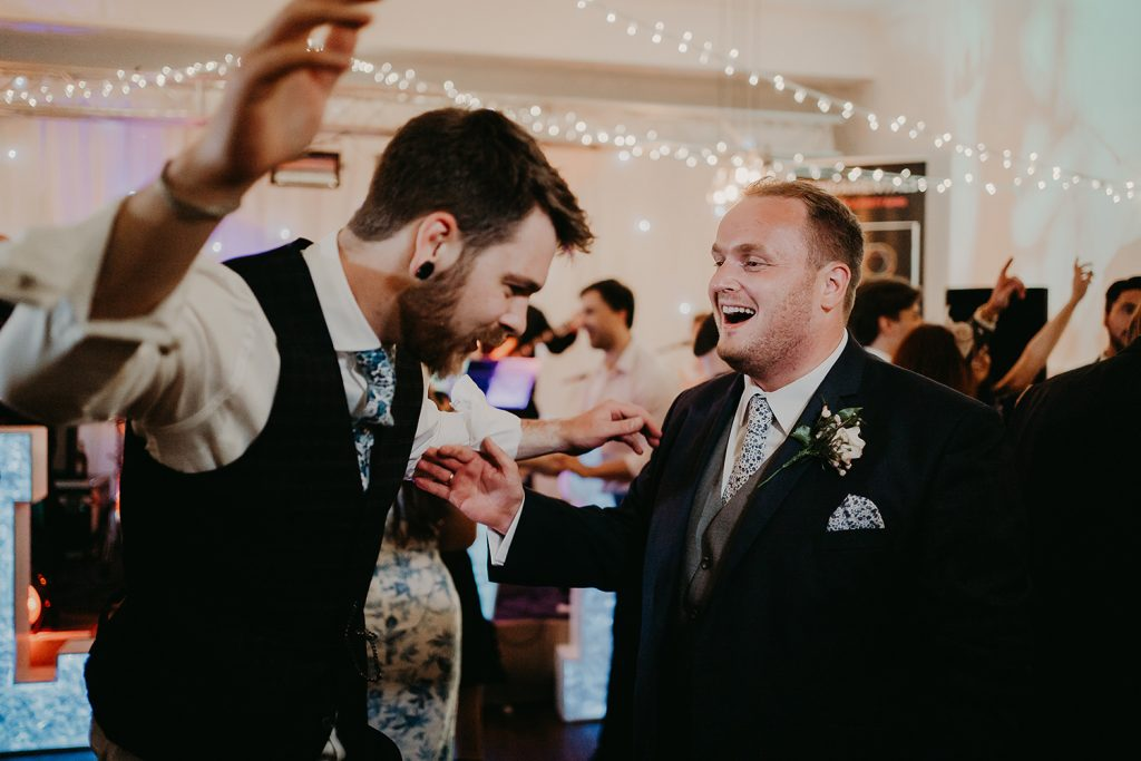Laxey Glen wedding dancing