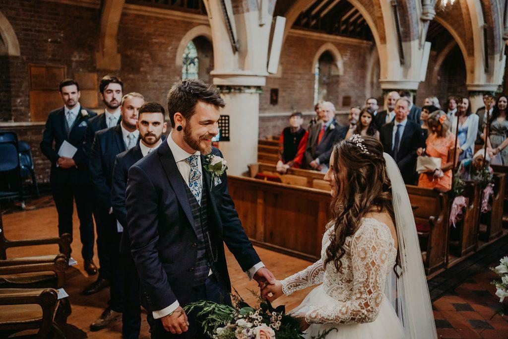 Kirk Braddan wedding