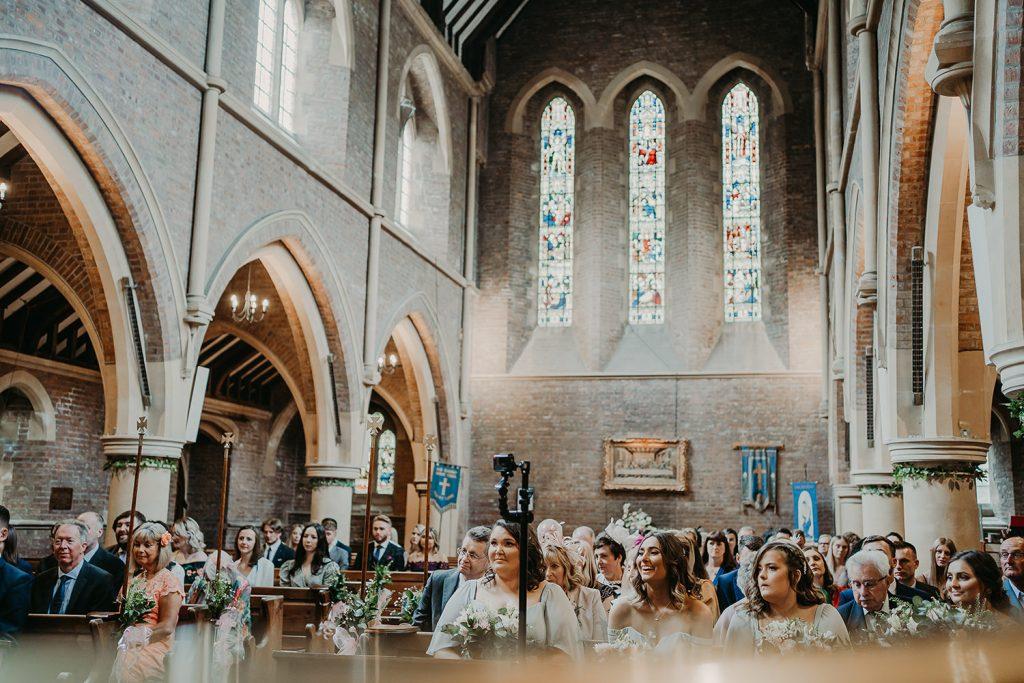 Kirk Braddan church and Laxey Glen wedding