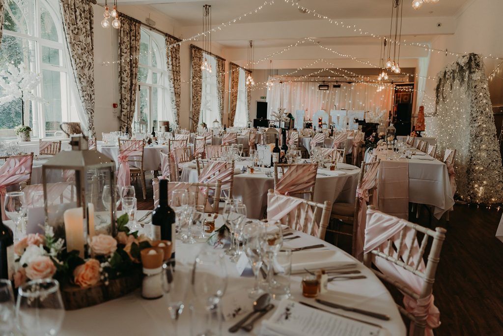 Laxey Glen wedding, decorated by Every Last Detail